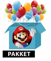 Super mario kinderfeest pakket trend