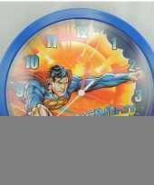 Superman klok 26 cm trend