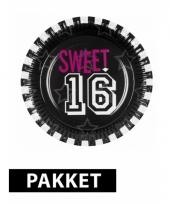 Sweet 16 decoratie pakket trend