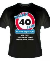 T shirt 40 jaar trend