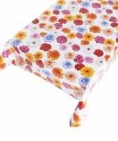 Tafelkleed bloemen motief 140 x 240 cm trend