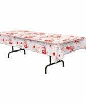 Tafelkleed met bloederige handafdrukken 275 x 135 cm trend