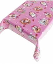 Tafelkleed pvc kitch roze 140 x 240 cm trend