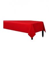 Tafellaken rood 140 x 240 cm trend