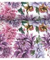 Tafelloper 3 in 1 met bloemen print 4 80 meter trend