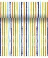 Tafelloper 3 in 1 met strepen print 4 80 meter trend