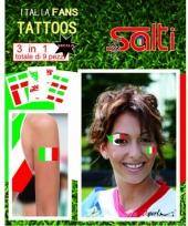 Tattoos italie 9 stuks trend