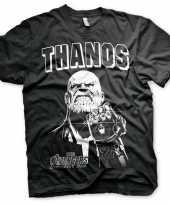 The avengers thanos shirt voor heren trend