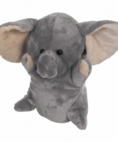 Theater pop pluche olifant 24 cm trend