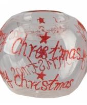 Theelichthouder merry christmas trend