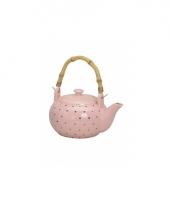 Theepot roze keramiek trend