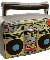 Thema muziek decoratie radio opblaasbaar trend