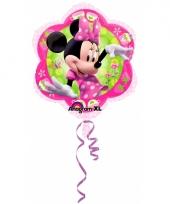 Themafeestje minnie mouse folie ballonnen 45 cm trend
