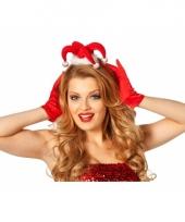 Tiara kerstmuts met licht trend
