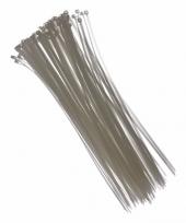 Tie wraps wit 28 cm 100 stuks trend