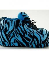 Tijger pantoffels blauw voor dames trend