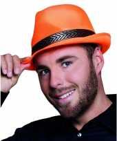 Timberlake hoedje oranje trend