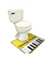 Toiletmat piano spelen trend