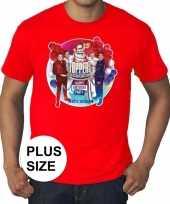 Toppers grote maten roodtoppers in concert 2019 officieel shirt heren trend