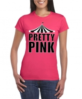 Toppers t-shirt roze pretty pink dames trend