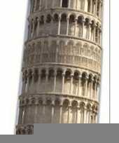 Toren van pisa versiering bord trend