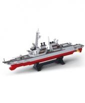 Torpedobootjager bouwsteentjes trend