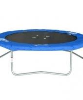 Trampoline 244 cm outdoor blauw trend