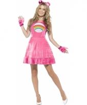 Troetelbeer jurkje roze voor dames trend