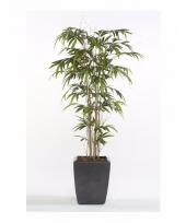 Tropische kunstplant bamboe promo 150 cm trend
