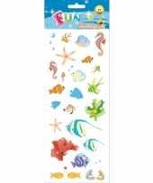 Tropische vissen stickervellen trend 10081134