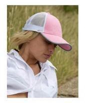 Trucker petje voor dames licht roze trend