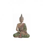 Tuin beeldje boeddha 20 cm trend