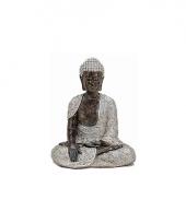 Tuin beeldje boeddha 29 cm trend