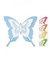 Tuin vlinder van metaal 39 cm trend
