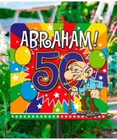 Tuindecoratie tuinbord 50 jaar trend 10063492