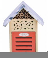 Tuinversiering insectenhotel 24 cm trend