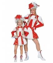Twirl kostuum rood voor meiden trend
