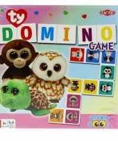 Ty beanie speelgoed domino spel trend