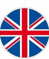 Uk verenigd koninkrijk feestversiering hangend 28 cm trend
