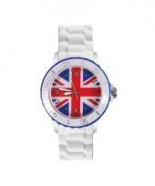 Union jack siliconen horloge trend