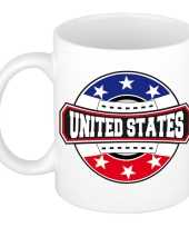 United states amerika verenigde staten embleem mok beker 300 ml trend