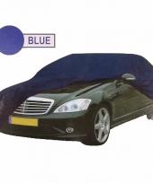 Universele auto beschermhoes xl blauw trend