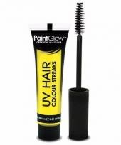 Uv haarmascara geel trend