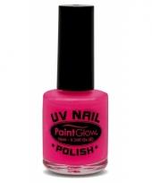 Uv nagellak neon roze trend
