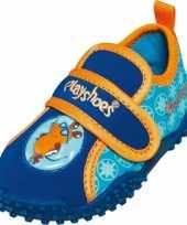 Uv waterschoenen blauw voor jongens trend