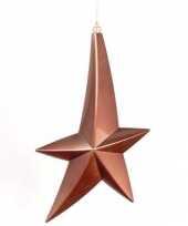 Vallende kerstster decoratie 30 cm trend