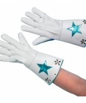 Vegas nepleren handschoenen wit trend