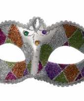 Venetiaanse oogmaskers glitter trend