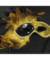 Venetiaanse verkleedmasker goud trend
