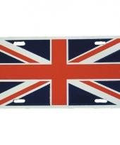 Verenigd koningkrijk decoratie bordje trend